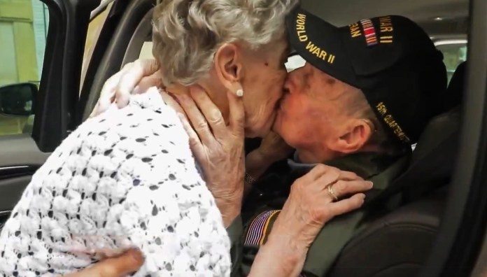 A US soldier reunites with the French woman he fell in love with in WWII 75 years later