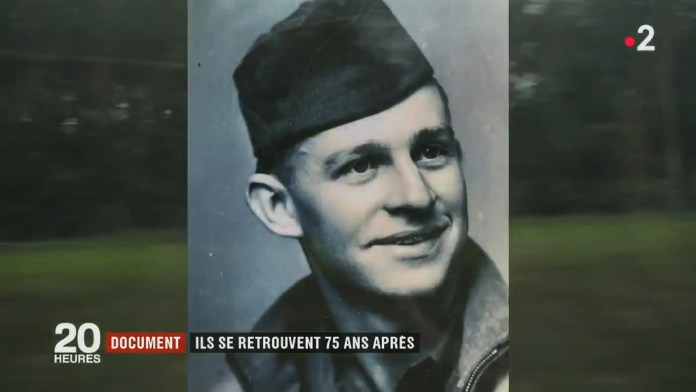 KT Robbins was 24 when he fell for Jeannine while in Briey, north-east France