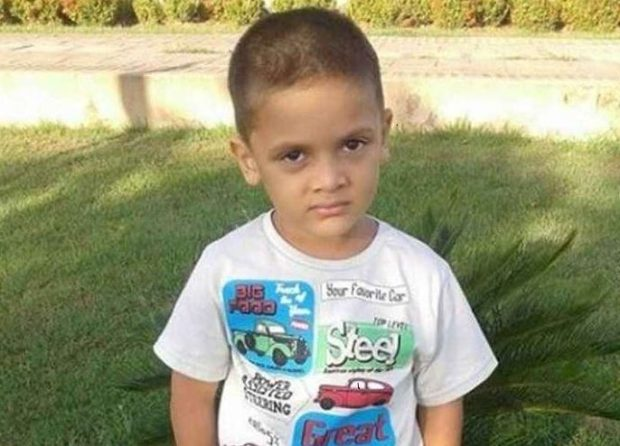 The nine-year-old boy was stabbed more than a dozen times