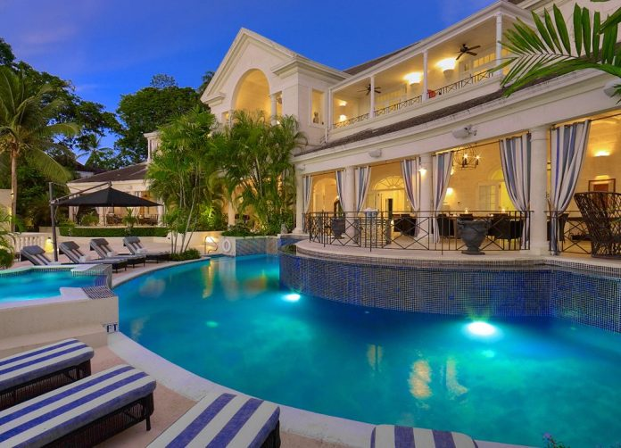 10-bed Barbados cliff-top villa where Prince Harry has stayed and
