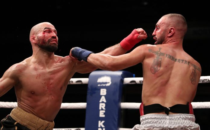 It was a relatively even fight throughout but Lobov just did enough to earn the victory