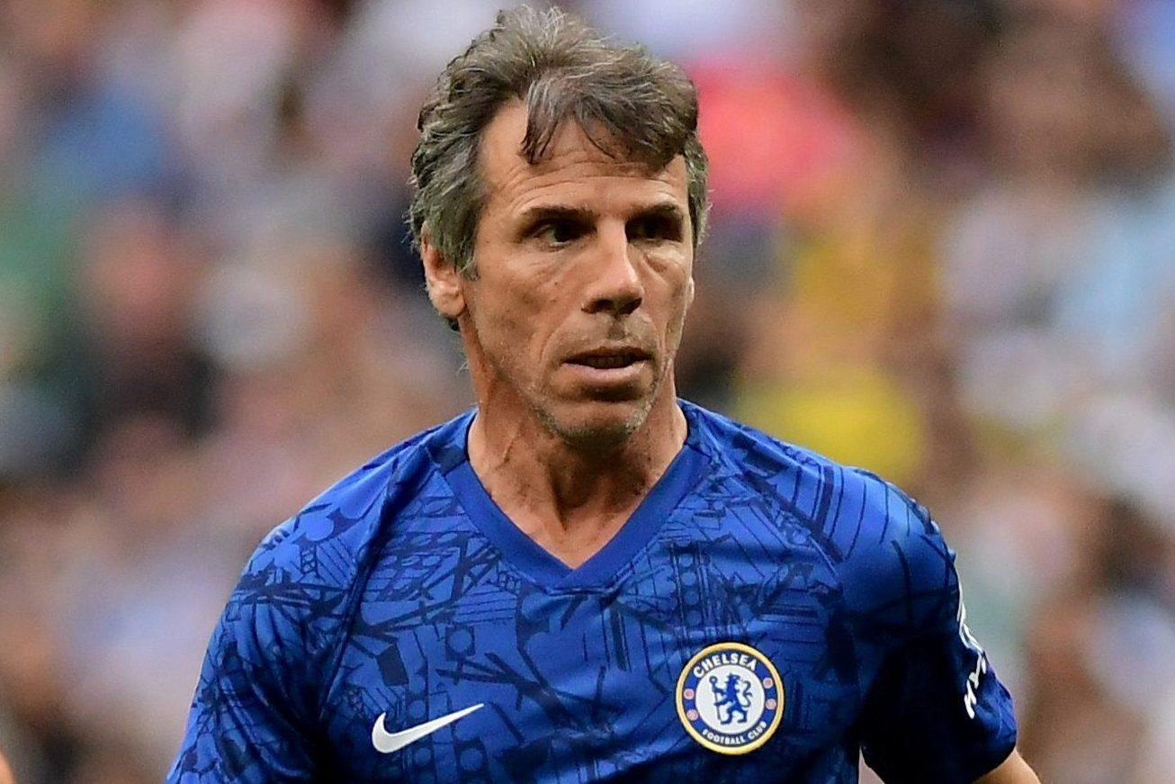 Gianfranco Zola's Chelsea contract expires next week but legend wants to stay and help new boss Frank Lampard