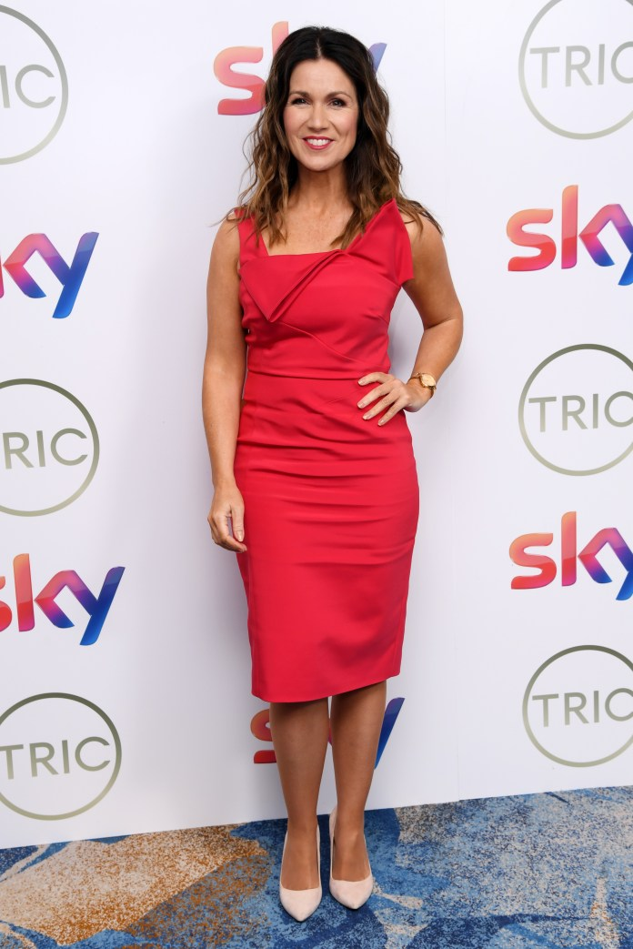 Susanna Reid's love life is often a topic of speculation on her television show