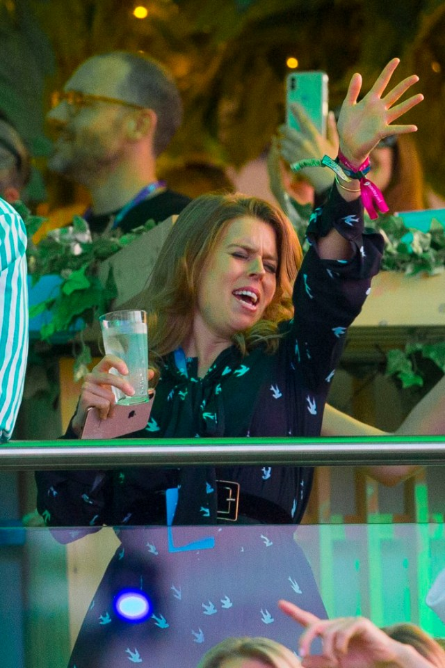 Meghan Markle isn't the only princess acting like a celeb at events, Eugenie and Beatrice have been too