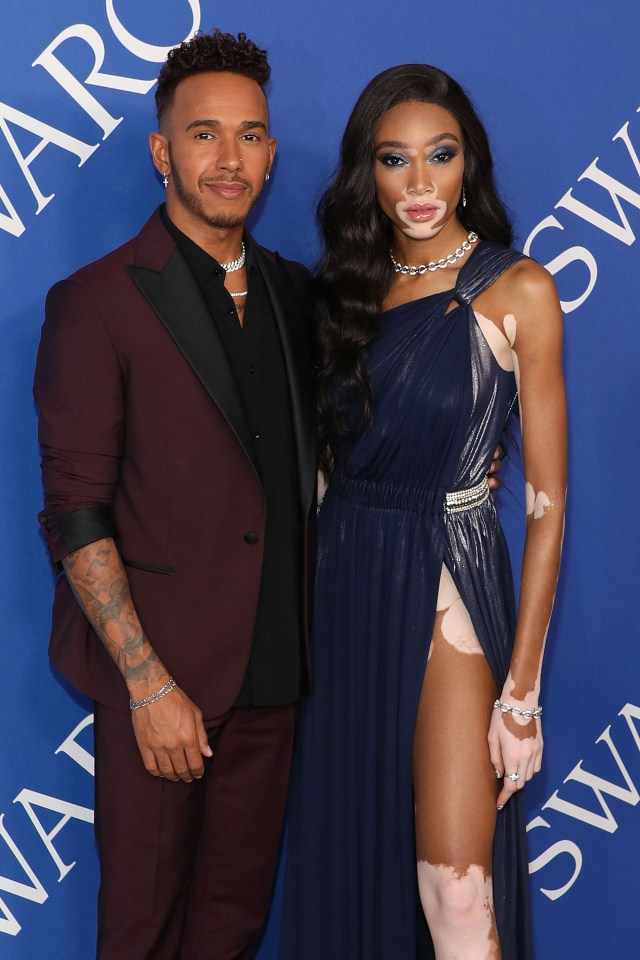 Hamilton and Harlow went to the CFDA Fashion Awards together last year