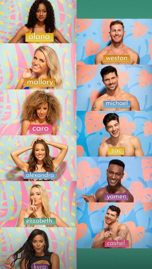 The Love Island USA cast