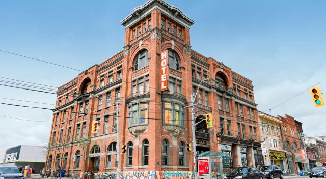 The historic Gladstone hotel has morphed into a boutique art hotel