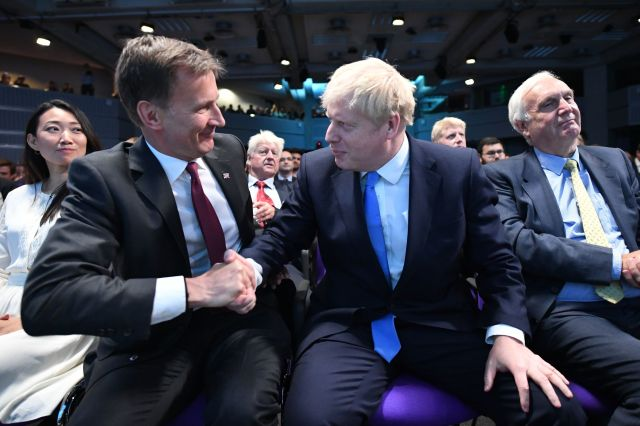 Boris scored a landslide victory over Jeremy Hunt