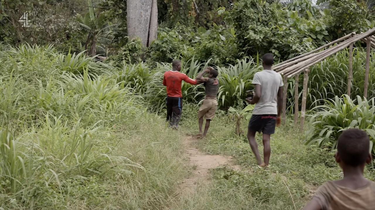 Shocking Moment Brit Extreme Tribes Filmmaker Saves Mans
