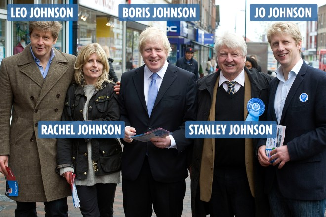 Boris Johnson has three siblings