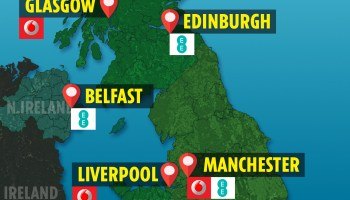 EE reveals the 16 launch cities to get 'SUPER-FAST' 5G internet in