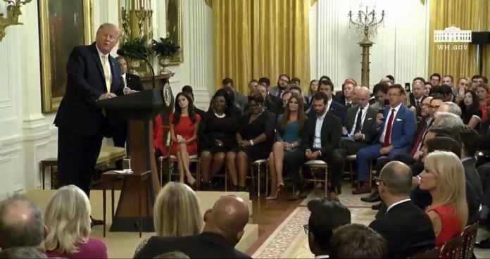 Trump led a social media summit of like-minded critics of big tech on Thursday night