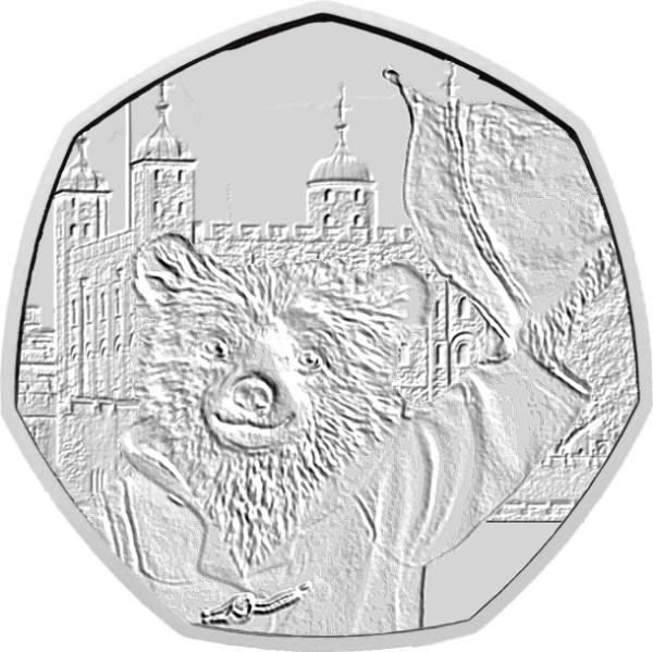 paddington bear 50p coins # 20