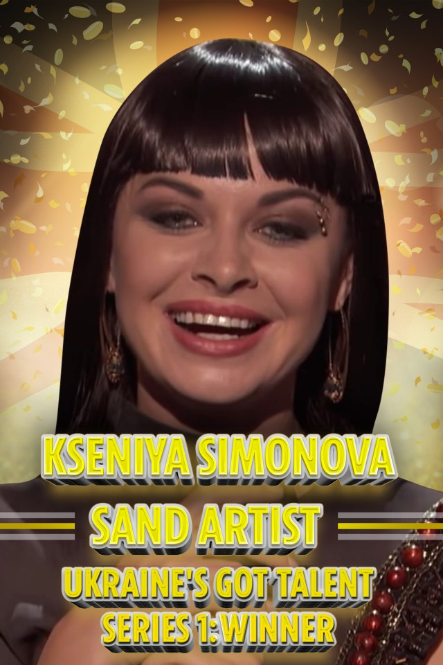 Kseniya Simonova is an internationally acclaimed sand artist
