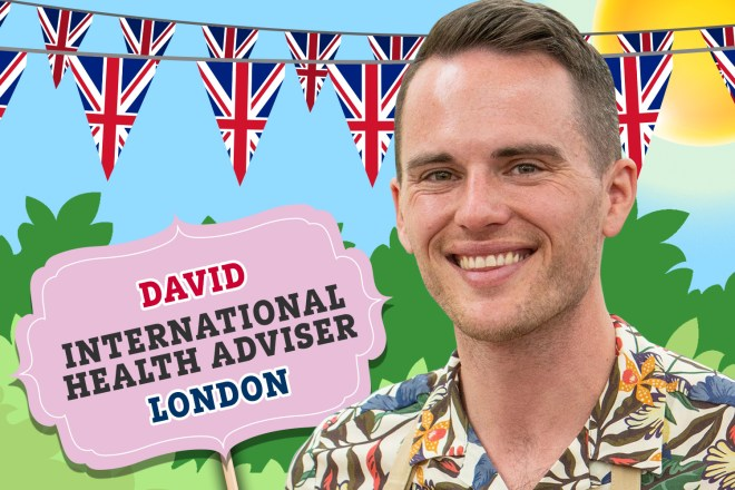 Meet Bake Off 2019's David
