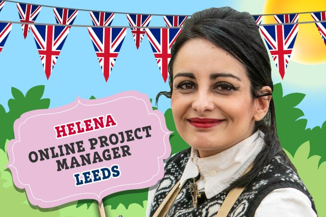 Meet Bake Off's Helena