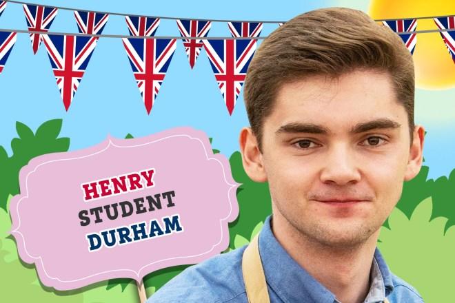 Meet Bake Off 2019 star Henry
