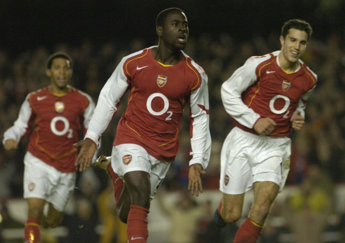 Owusu-Abeyie originally came to Highbury from Ajax at the age of 16