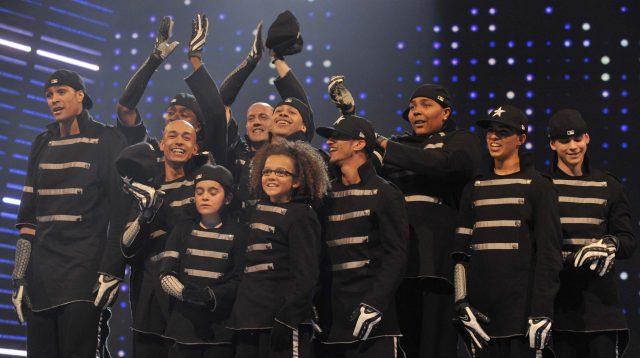 The dance troupe beat Susan Boyle to win Britain's Got Talent 2009