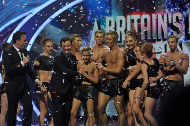 Spelbound bagged the prize after winning Britain's Got Talent 2010
