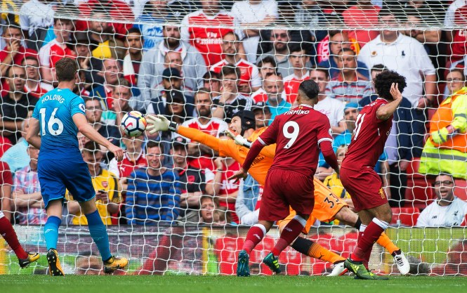 Firmino Liverpool Arsenal
