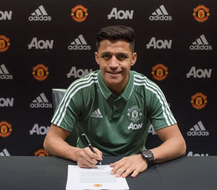 Sanchez signed for United in January 2018 on a £505,000-a-week deal