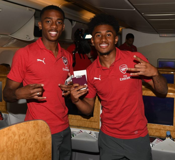 Joe Willock and Reiss Nelson are just two of the current crop of Arsenal wonderkids starring in the first team today