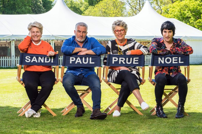 Sandi, Paul, Prue and Noel will be back for Bake Off 2018