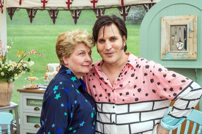 Bake Off wouldn't be Bake Off without Sandi Toksvig and Noel Fielding