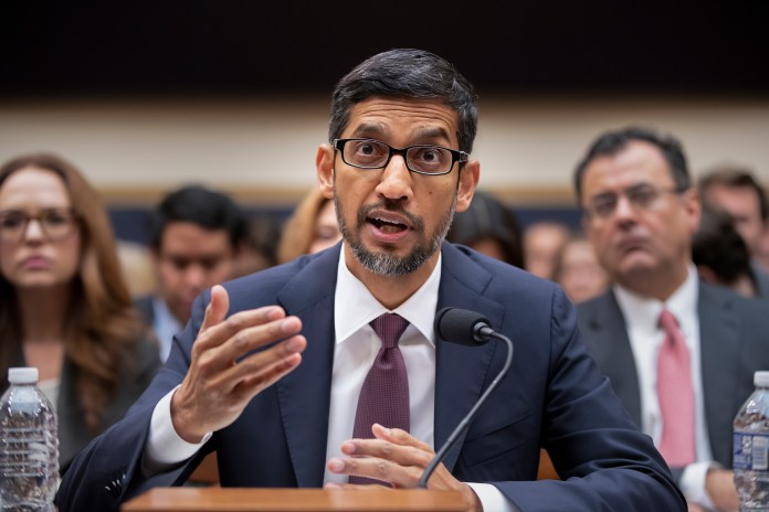 Google CEO Sundar Pichai testified in front of Congress to say Google is not biased