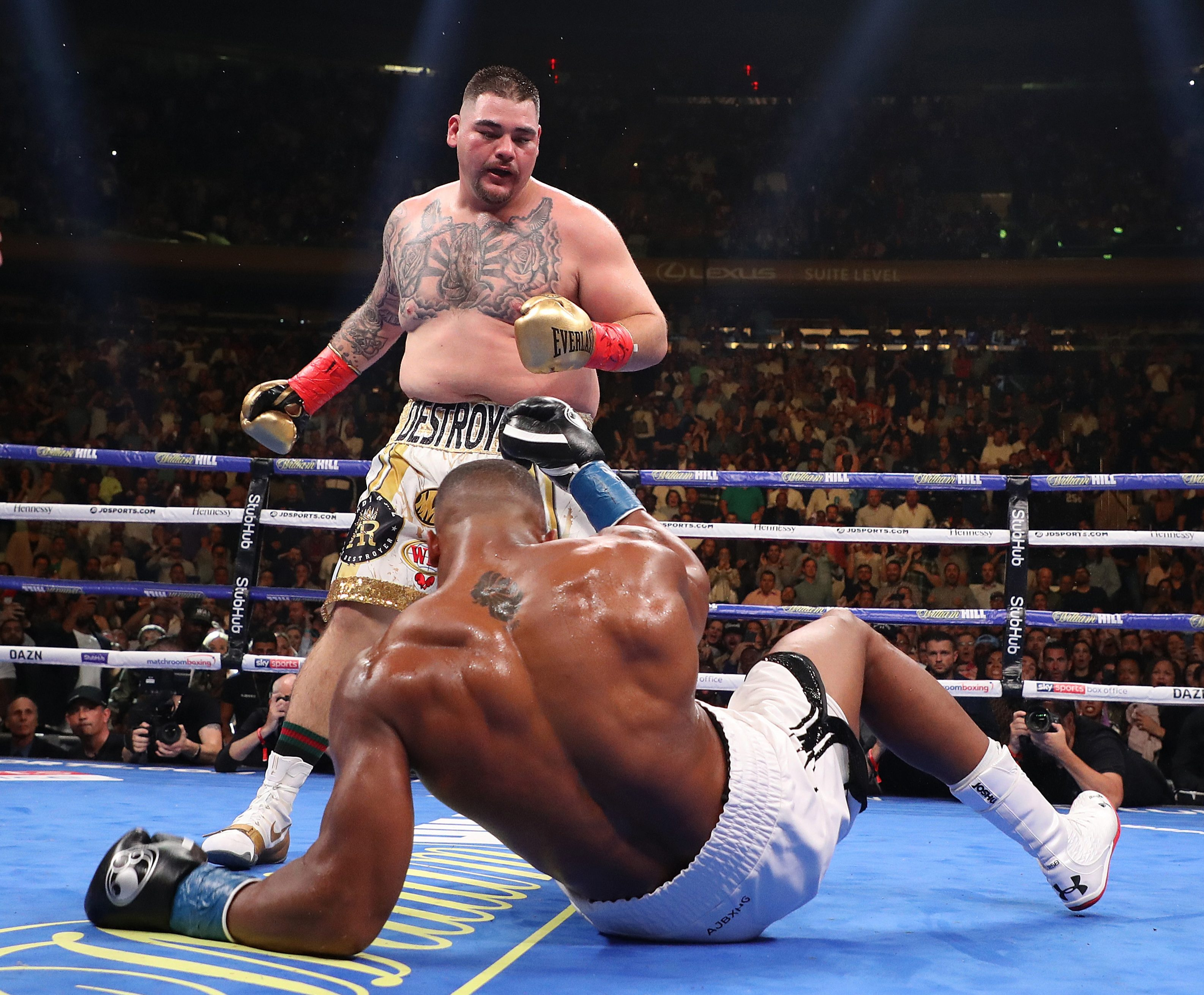 Ruiz ripped the unified titles from Joshua after convincing win in New York