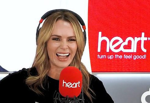Amanda is thought to cash in around £1.5million as a co-host on Heart radios breakfast show