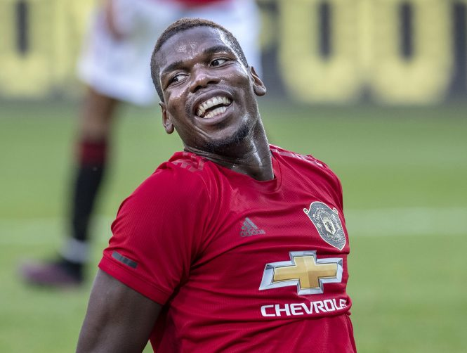 Wantaway Paul Pogba was the subject of a bid from Real Madrid that Man United rejected