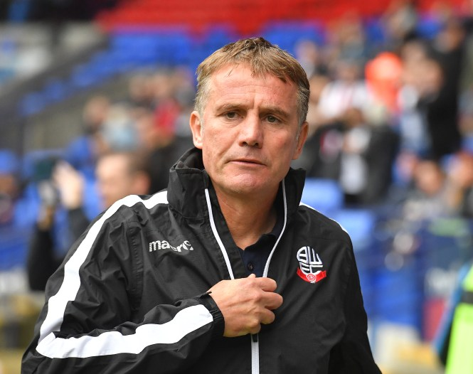 Phil Parkinson has left his role as Bolton Wanderers manager after more than three years in charge