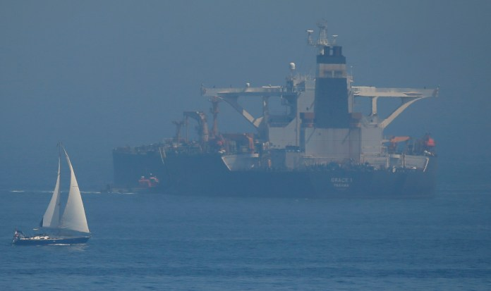 The Iranian oil tanker held in Gibraltar, called the Grace 1, will be released