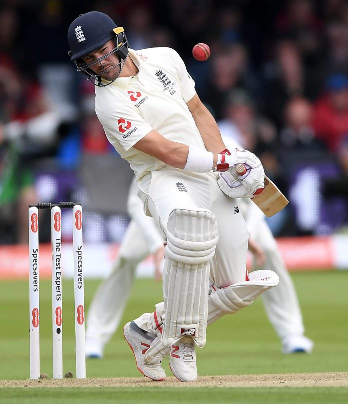 Opener Rory Burns top-scored for England with 53 whereas opening partner Jason Roy lasted just three balls