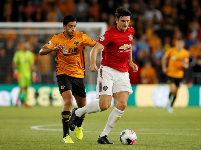 Harry Maguire was put under plenty of pressure in the second half and almost gifted away a goal