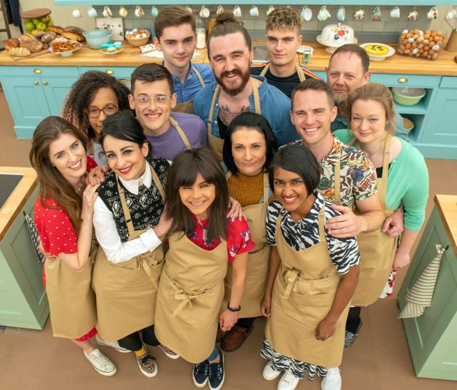 The 2019 line-up for the Great British bake Off