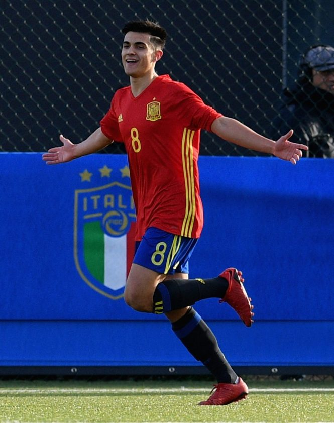 Cultured midfielder Puigmal soon caught the eye of Man Utd scouts in 2017