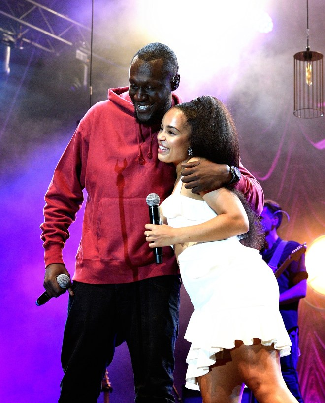 Stormzy performed with Jorja at last year's Somerset House Summer Series
