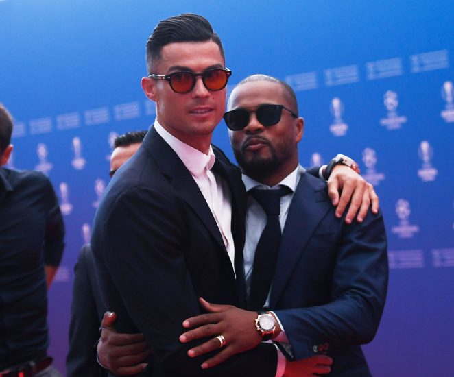 """Do not dine with Cristiano Ronaldo"" - Patrice Evra warns Messi"