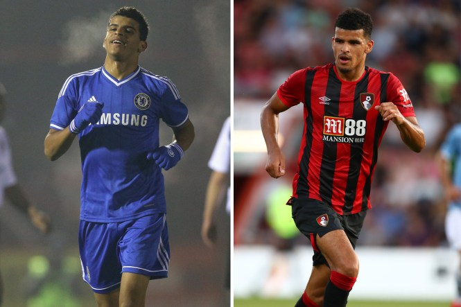Solanke was Chelsea's star striker in the academy but ended up being sold to Liverpool before joining Bournemouth last year