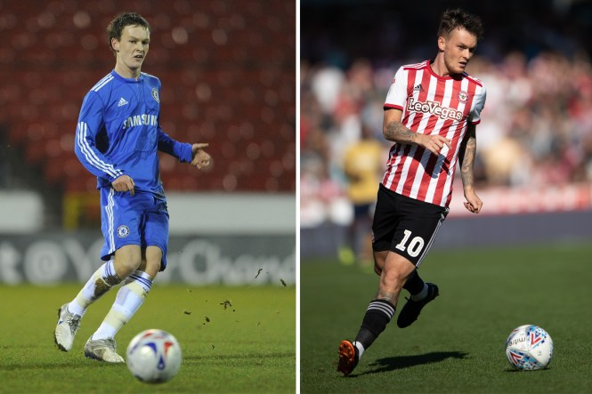 Josh McEachran was expected to succeed Frank Lampard at Chelsea but is now without a club having been at Brentford