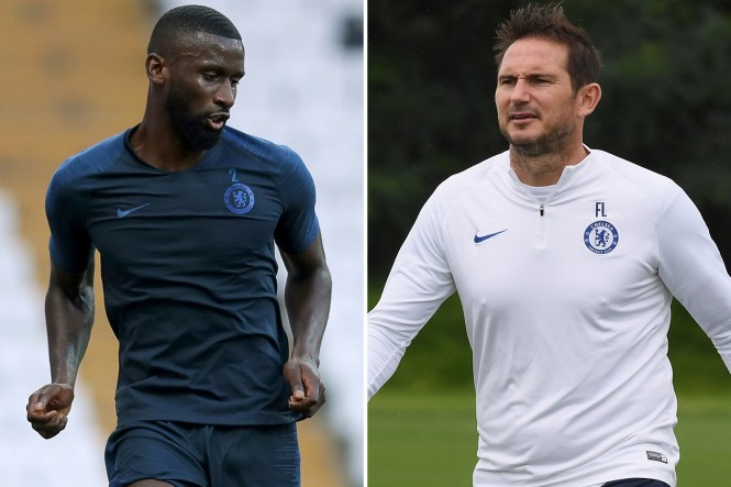 Antonio Rudiger is fit for Chelsea's clash against Norwich on Saturday after battling back from a knee injury