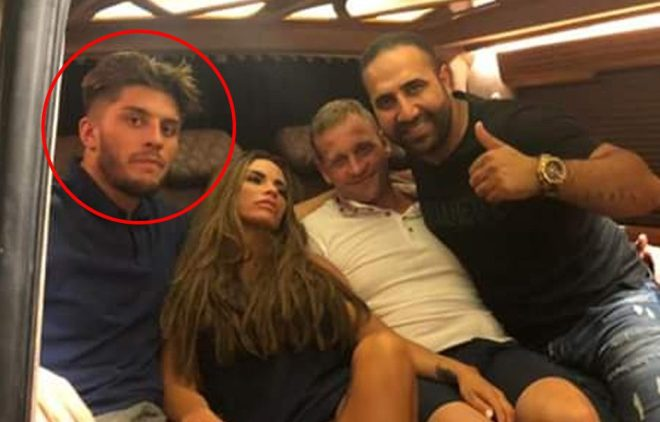 Katie Price had flown her new toyboy Charles Drury, left, to Turkey with her