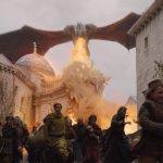 Drogon burning King's Landin