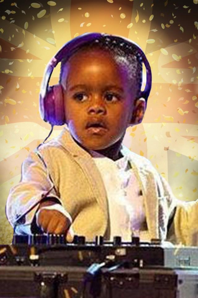 Meet tiny DJ Arch Junior