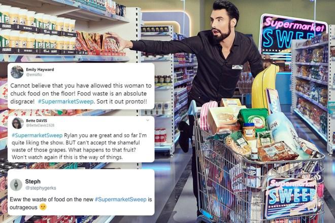 Rylan Supermarket Sweep backlash