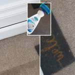 Mum Uses 3 Stain Remover To Get Hallway Carpet Looking