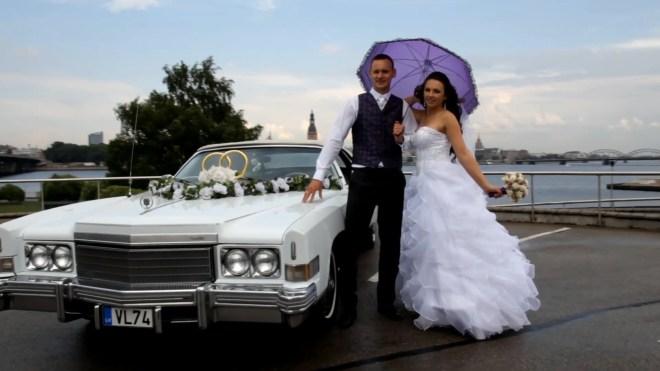 Lana Nemceva, 23, and Kiril Nemcev, 32, beam on their wedding day - five years before they were found dead in their Burton home